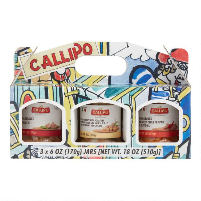 Callipo Yellowfin Tuna in Olive Oil Gift Set 3 Pack
