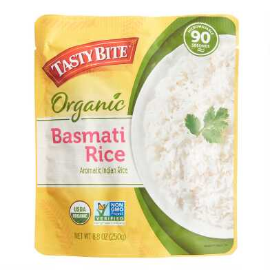 Tasty Bite Organic Basmati Rice Set of 6