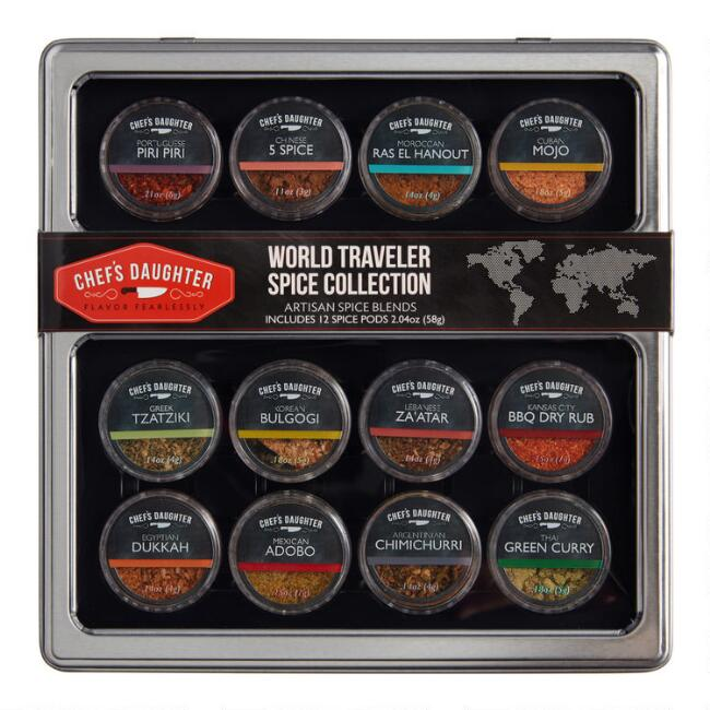 Chef's Daughter World Traveler Spice Collection 12 Pack