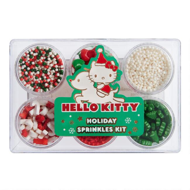Hello Kitty Holiday Sprinkles Kit 6 Count