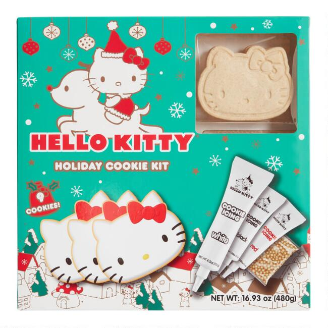 Hello Kitty Holiday Cookie Decorating Kit