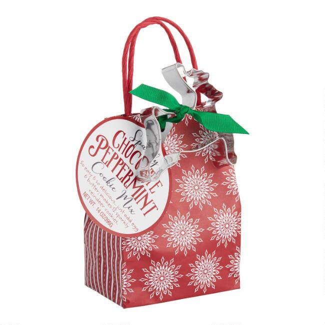Pelican Bay Chocolate Peppermint Cookie Mix Gift Bag