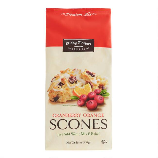 Sticky Fingers Bakeries Cranberry Orange Scone Mix