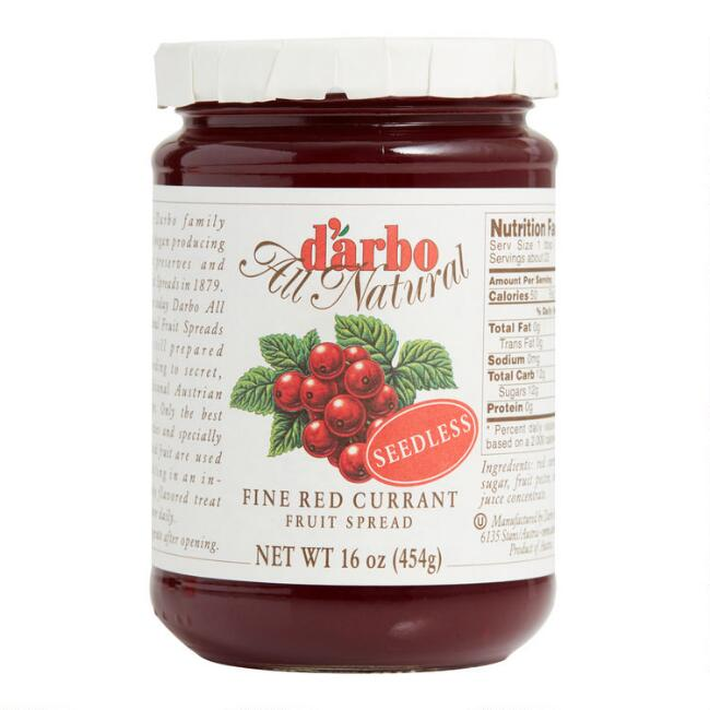 Darbo Seedless Red Currant Fruit Spread