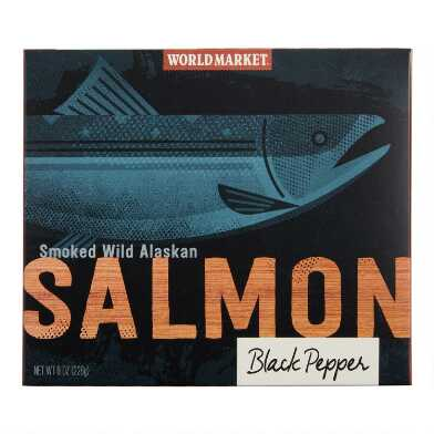 World Market® Peppered Alaskan Smoked Salmon