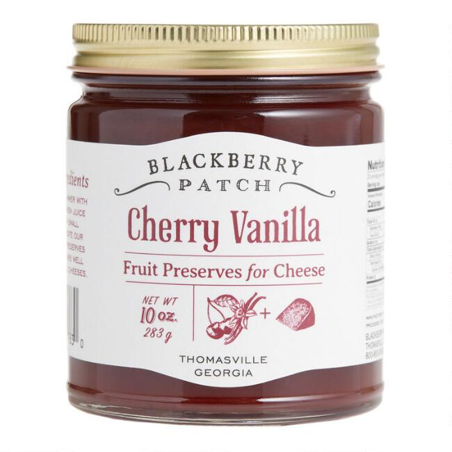 Blackberry Patch Cherry Vanilla Preserves for Cheese