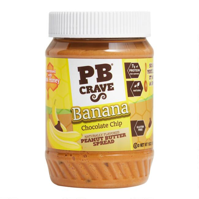PB Crave Banana Chocolate Chip Peanut Butter Spread