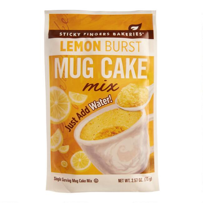 Sticky Fingers Lemon Burst Mug Cake Set of 12