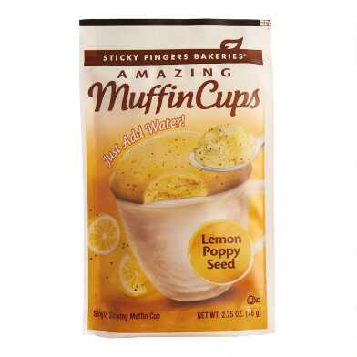 Sticky Fingers Lemon Poppy Seed Muffin Cup Set of 12