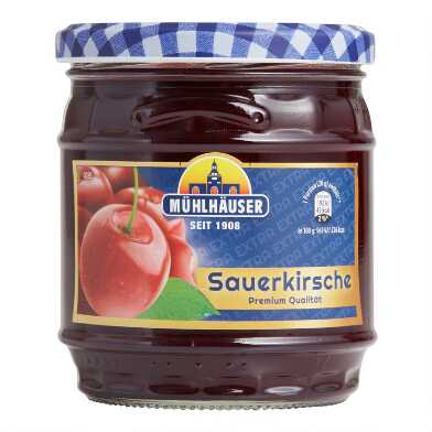 Muhlhauser Sour Cherry Jam