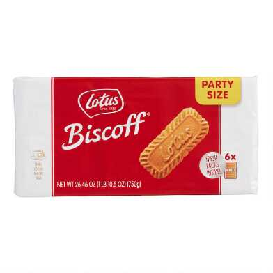 Biscoff Cookies Party Size 6 Pack