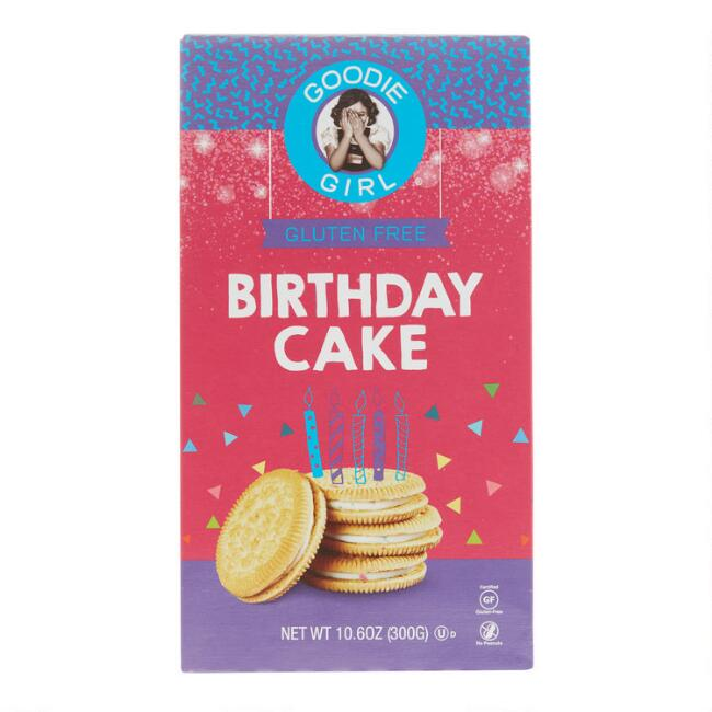 Goodie Girl Gluten Free Birthday Cake Cookies