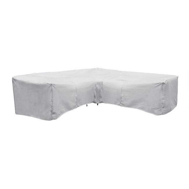 Vinyl Outdoor Sectional Sofa Cover Collection