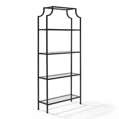 Tall Bronze Milayan Shelf