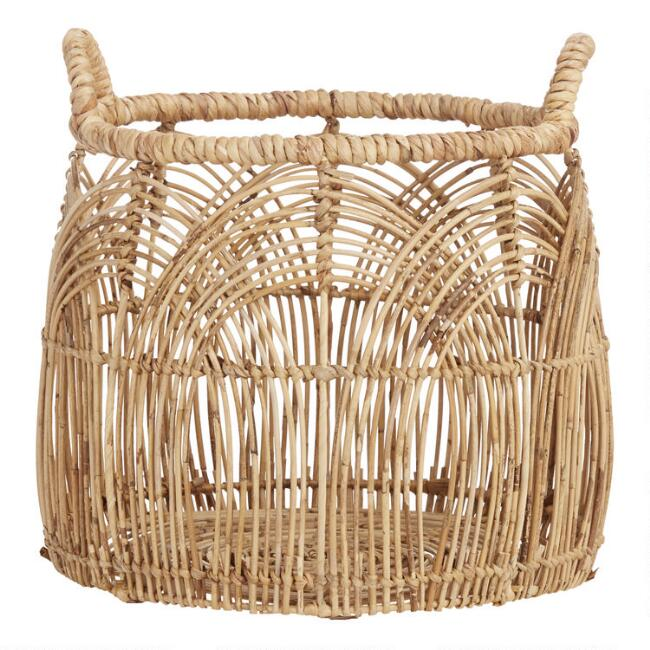Small Natural Rattan Eve Basket