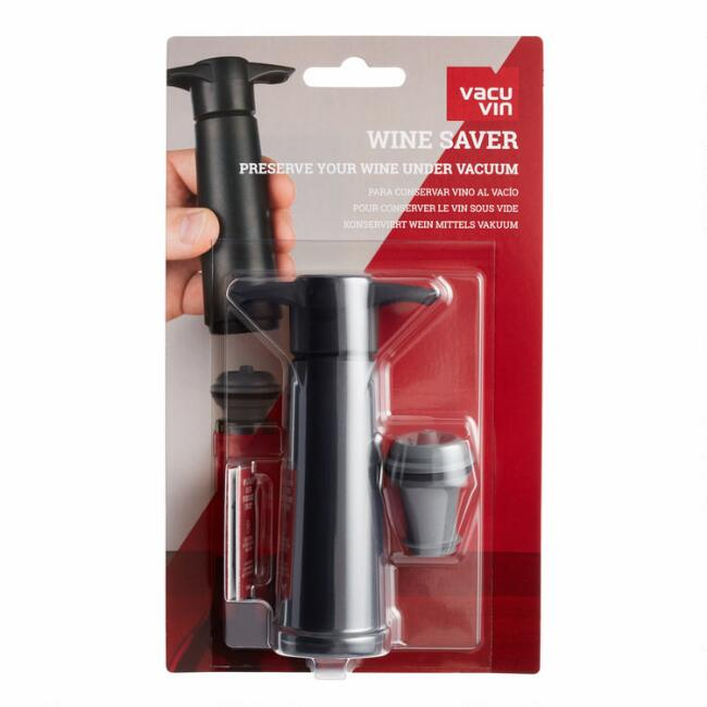 Vacuum Wine Pump and Stopper