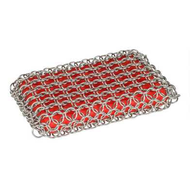 Lodge Chain Mail Cast Iron Scrubbing Pad