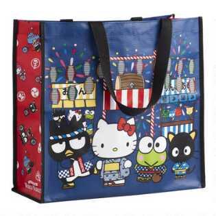 Large Hello Kitty Omatsuri Tote Bag