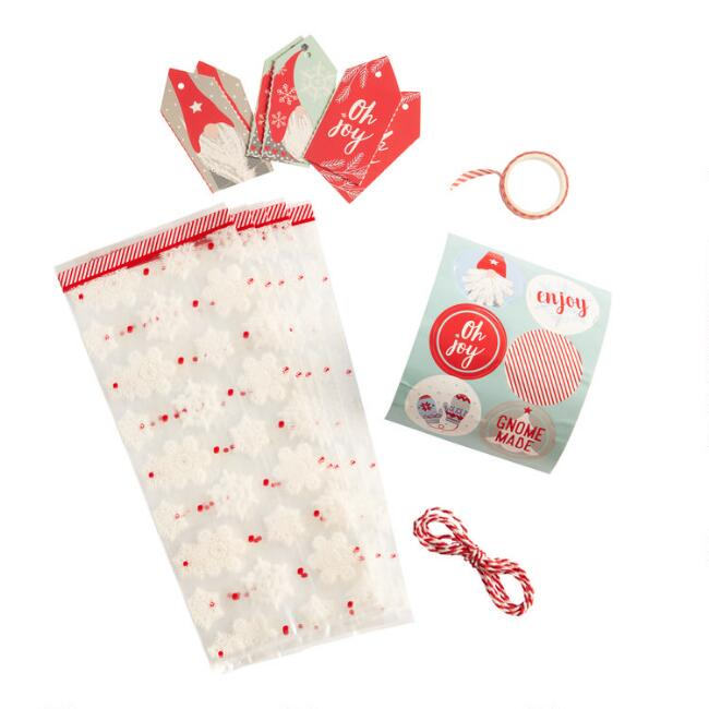 Oh Joy Gnome Treat Bags and Gift Tags Set