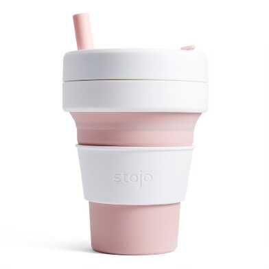 Stojo Biggie Collapsible Silicone Travel Cup