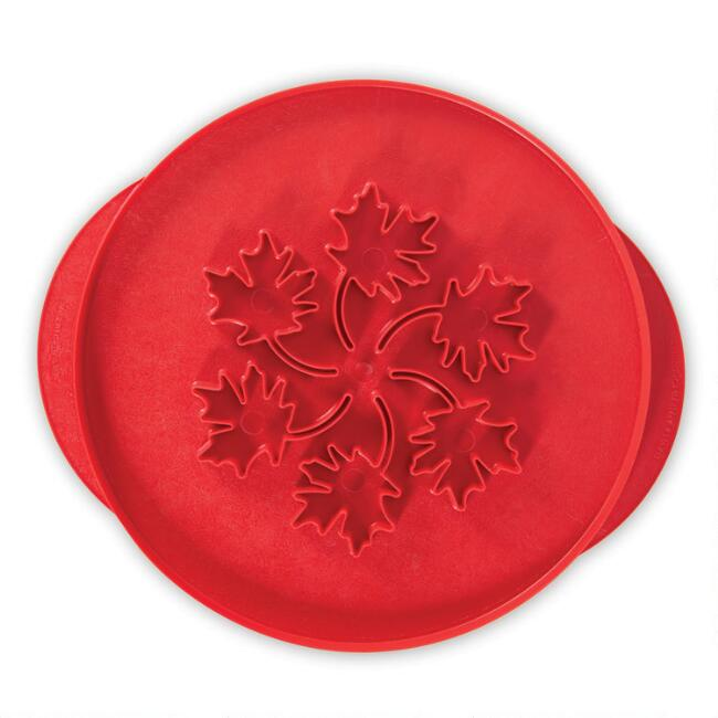 Nordic Ware Leaves and Apples Reversible Pie Top Cutter