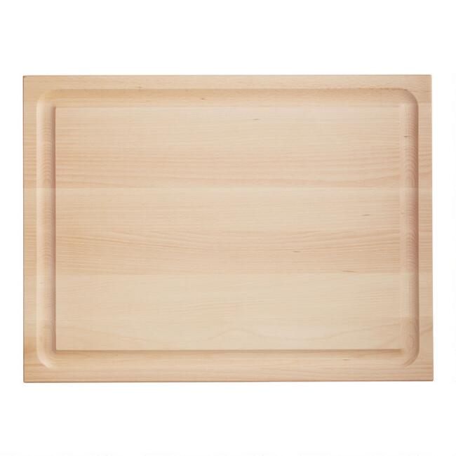 Maple Wood Reversible Trencher Cutting Board
