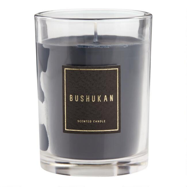 Purple Bushukan Art Deco Boxed Jar Candle