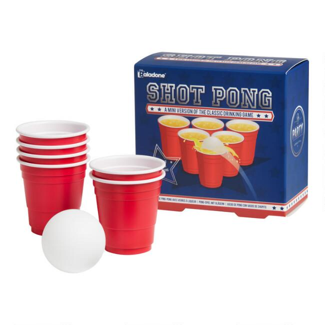 Shot Pong Drinking Game