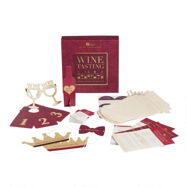 Talking Tables Wine Tasting Game