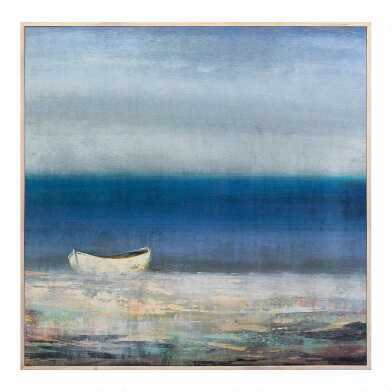 Oceana Framed Canvas Wall Art