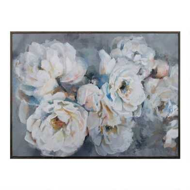 Petal Dance Framed Canvas Wall Art