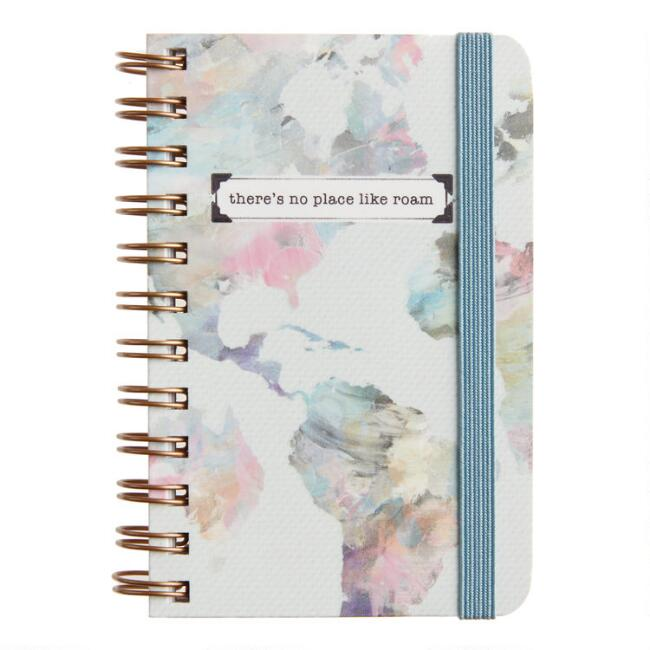 There's No Place Like Roam Spiral Pocket Notebook