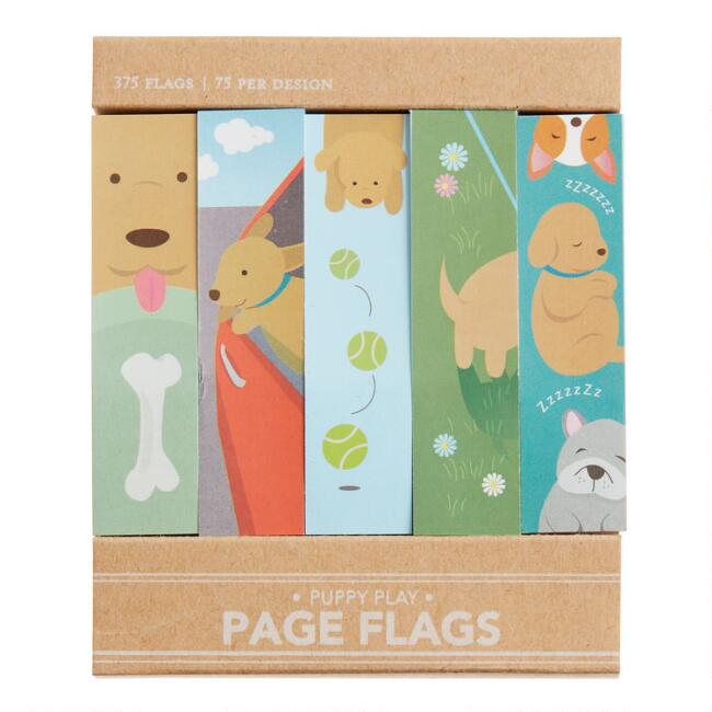 Puppy Play Sticky Page Flags