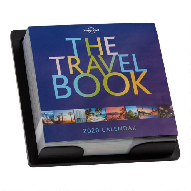 The Travel Book 2020 Daily Desk Calendar