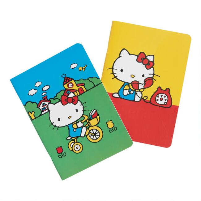Retro Hello Kitty Journals Set of 2