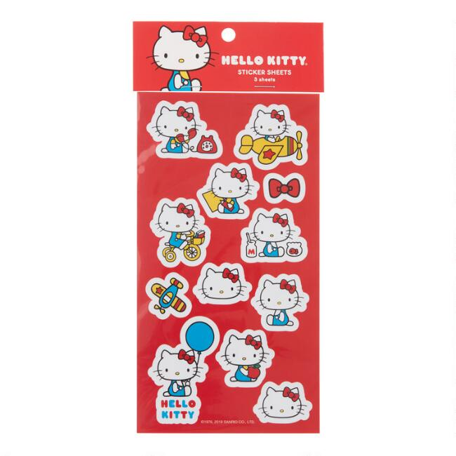 Retro Hello Kitty Stickers