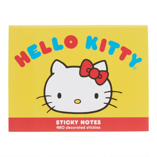 Retro Hello Kitty Sticky Notes