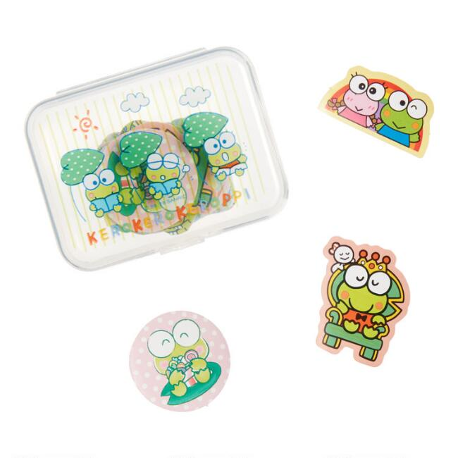 Keroppi Stickers with Case