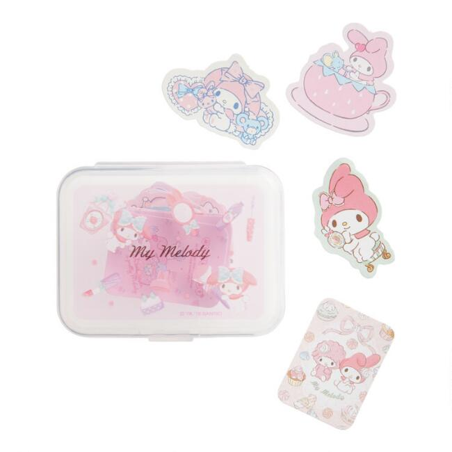 My Melody Stickers with Case