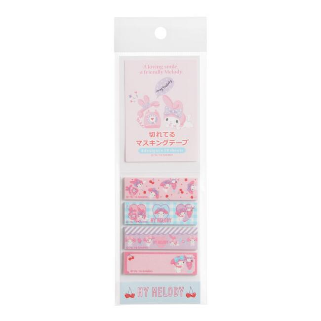 My Melody Sticky Page Flags