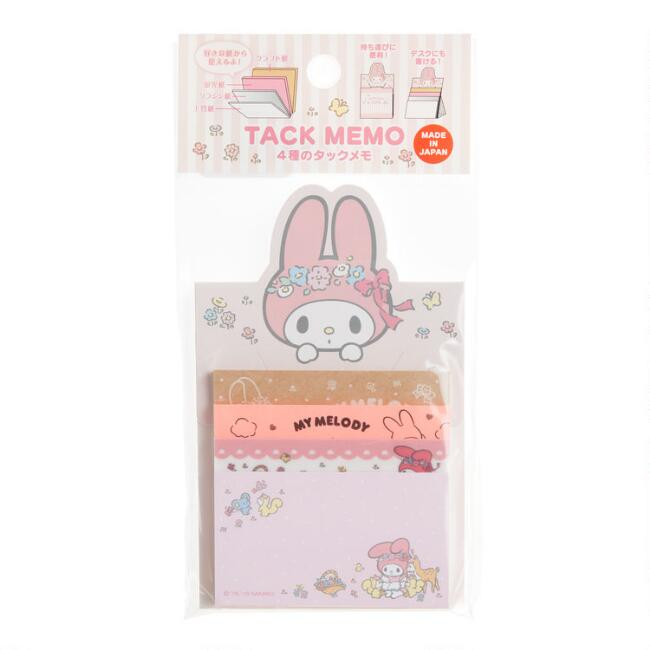 My Melody Sticky Memos