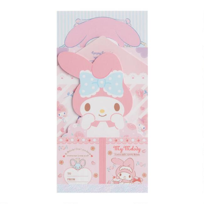 My Melody Compact Memo Pad Set
