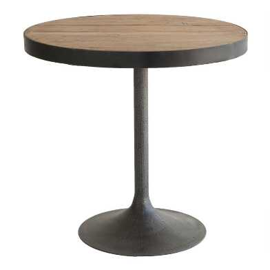 Medium Oval Reclaimed Pine Victor Accent Table