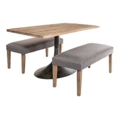 Rectangular Wood Gibson Dining Collection