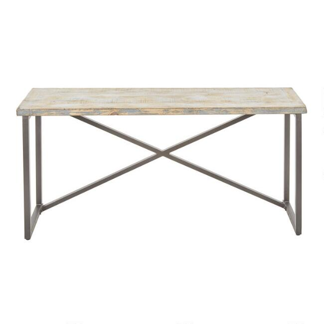 Antique Blue Reclaimed Pine Sita Console Table
