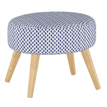 Admirable Ivory Faux Flokati Stool World Market Alphanode Cool Chair Designs And Ideas Alphanodeonline