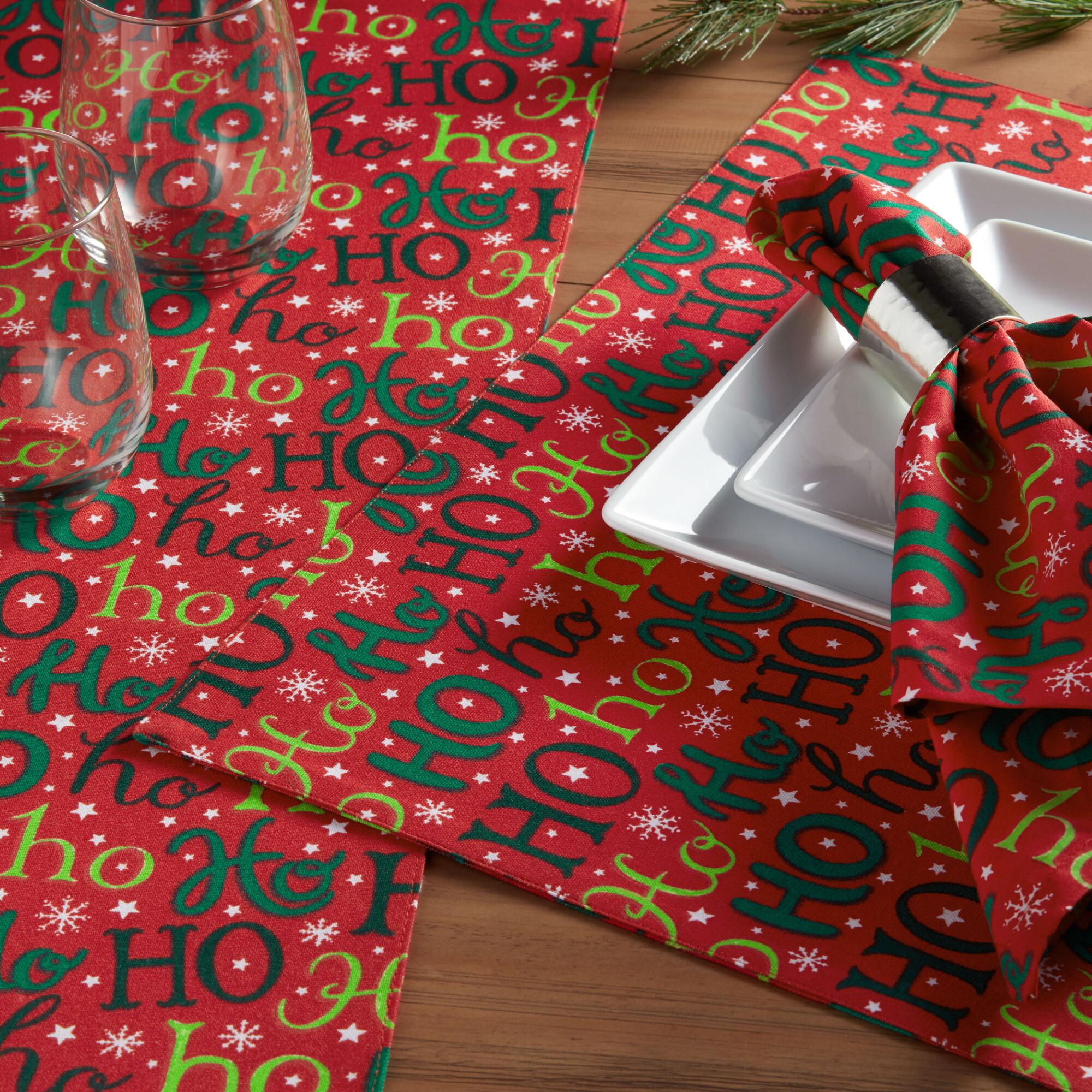 Holiday Table Linens 50% Off!