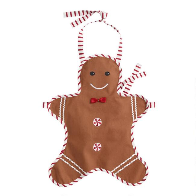 Kids Gingerbread Cookie Apron