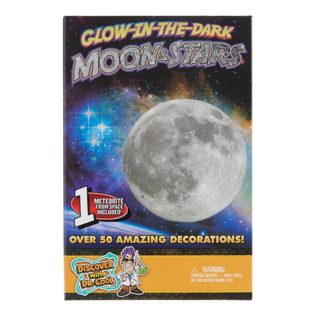 Discover With Dr Cool Glow In The Dark Moon & Stars Kit