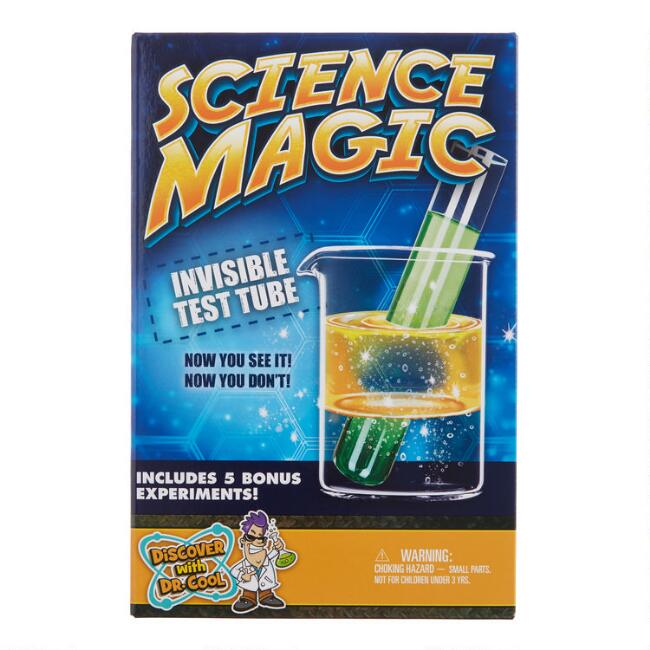 Discover With Dr Cool Science Magic Invisible Test Tube Kit
